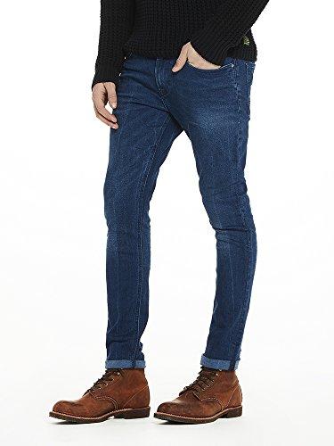 Scotch & Soda Herren Straight Jeans Skim-Blue Drag Light Blau (Blue Drag Light 1414)