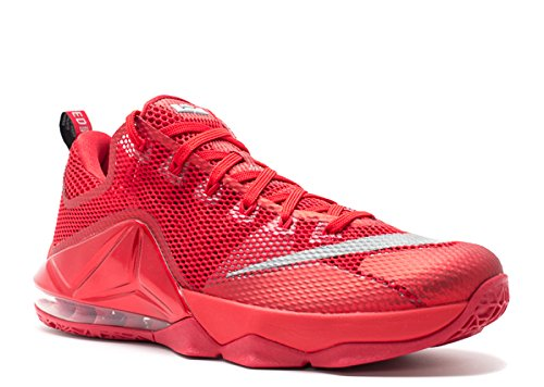 Nike Lebron 12 Low 'All Over Red' - 724557-616 -