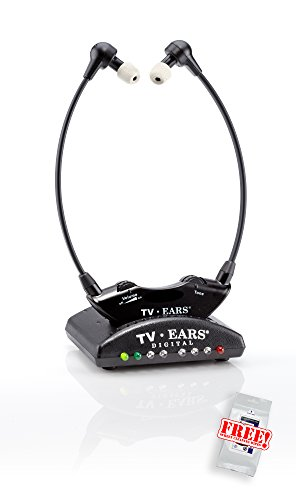 TV Ears 5.0 Digital TV-Kopfhörer zur Hörunterstützung – kabellose Hörhilfe mit zusätzlichen digitalen Eingängen. Einfache Bedienung, leichte Installation