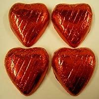 500g Rojo En Embalaje Flexible Corazones De Leche Con Chocolate - Aproximado 100 - Ideal Para
