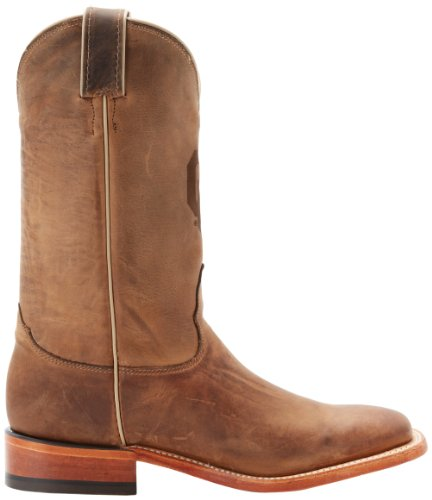 Nocona Men's Oklahoma Branded Hommes Large Cuir Santiags brown