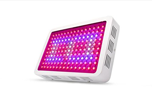 1200W Double Chip LED wachsen Licht, Full Spectrum mit UV/IR-Licht Lampe, führte Pflanzenlicht für Gemüse und Blumen in LED wachsen wachsen Zelt und wachsen Box, Indoor-Gewächshaus - High Intensity Uv-lampe