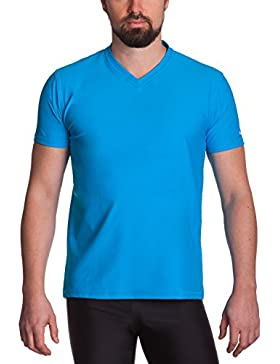 iQ-UV Herren 300 Regular Geschnitten, V-Ausschnitt Schutz T-Shirt