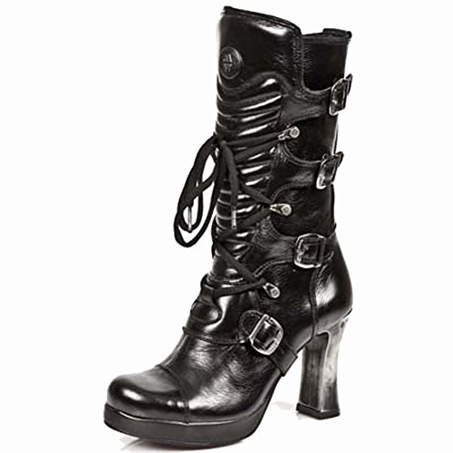 New Rock Damen M 5815 S10 Stiefel & Stiefeletten Black