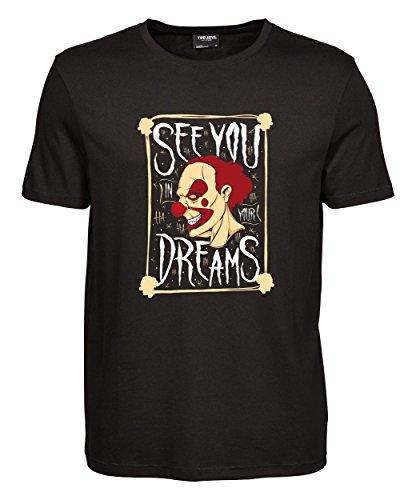 makato Herren T-Shirt Luxury Tee Your Dreams Black