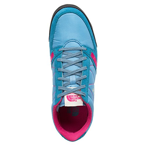 The North Face Dipsea 78 Racer Shoes, Chaussures de Football Mixte Adulte Bleu - Cielo / Fucsia