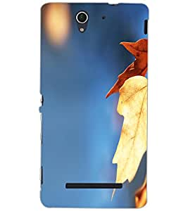 SONY XPERIA C3 LEAFES Back Cover by PRINTSWAG