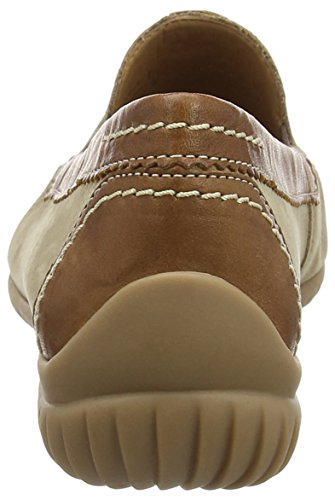 Gabor California, Mocassins (loafers) femme Beige (Corda Nubuck/Copper Leather)