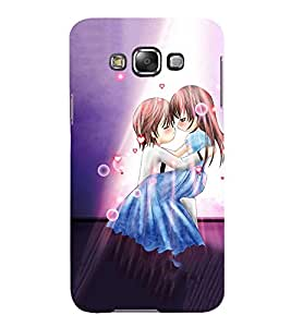 Takkloo lovers a boy and a girl,loving each other, cover for lovers, heart rain) Printed Designer Back Case Cover for Samsung Galaxy E5 (2015) :: Samsung Galaxy E5 Duos :: Samsung Galaxy E5 E500F E500H E500Hq E500M E500F/Ds E500H/Ds E500M/Ds