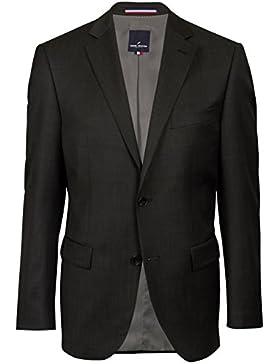 DANIEL HECHTER Super 110 Modern-Fit Anzug in anthrazit