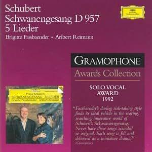 Schwanengesang D957, 5 Lieder (Gramophone Awards Collection)