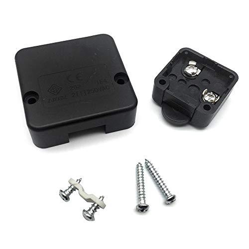FUJIE Interruptor de la puerta Empuje de superficie Interruptor de contacto para...