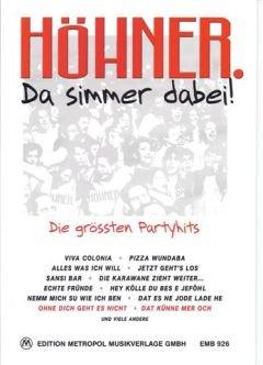 DA SIMMER DABEI - arrangiert für Songbook [Noten / Sheetmusic] Komponist: HOEHNER (Was Jetzt, Meine Liebe)
