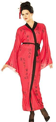 Forum Damen Kostüm in Erwachsenengröße, rot, - Madama Butterfly Kostüm