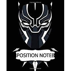Composition Notebook: Black Panther Superhero Comics Avenger Black Jaguar Vibranium Kingdom Wakanda Forever, 110 blank pages, 7.5x9.25. Inexpensive ... Wide Ruled lined Paper for Taking Notes.