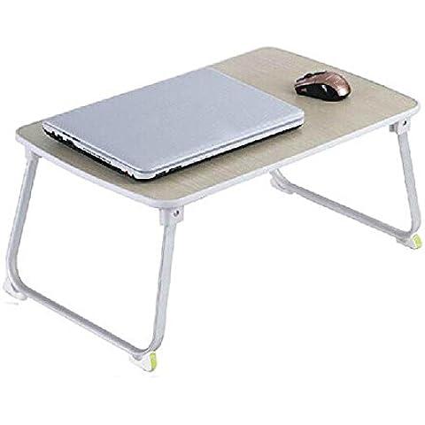 sbwylt-foldable supporto portatile impermeabile multifunzione da tavolo su un letto semplice scrivania 70* 36* 27cm