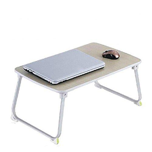 BBSLT Stand pieghevole portatile, impermeabile multifunzione tavolo su un letto, dormitorio semplice scrivania 70 * 36 * 27 cm