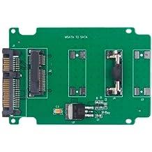 Adaptador-Converter 1.8'' Micro SATA MSATA SSD a 7+15 2.5'' SATA