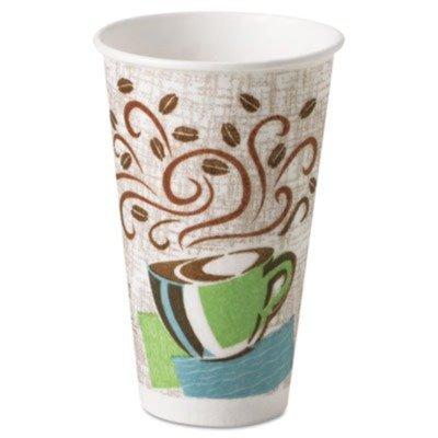 Dixie PerfecTouchÃÃ'Â'ÃÂ'Ã'® 16 Oz Hot Paper Cups, Coffee Design, Pack of 500 (DXE5356DXCT) Category: Paper Cups by Dixie