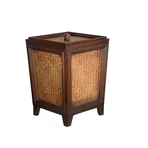 SDHKE Crosley Furniture Bradenton Weidenabfalleimer for den Außenbereich - Weathered Brown