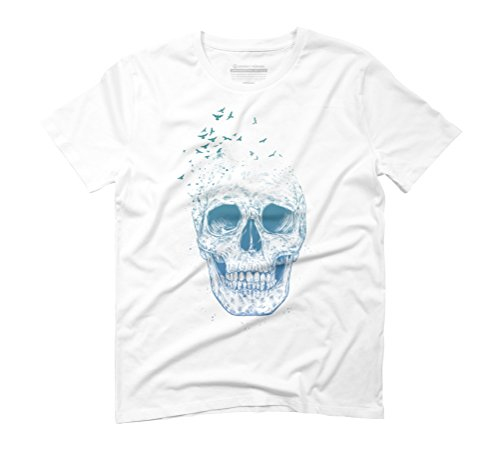 Let them fly II Men's Graphic T-Shirt - Design By Humans White