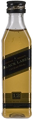Johnnie Walker Black Label Scotch 12 Years Old PET Whisky (1 x...