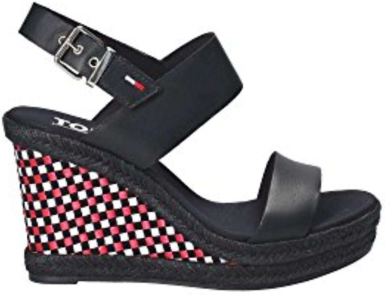 Donna   Uomo Uomo Uomo TOMMYHILFIGER Sandalo Donna Pelle MIDNI Nuovo mercato Bella apparenza Conosciuto per la sua eccellente qualità | Export  | Uomo/Donne Scarpa  1bd2b7