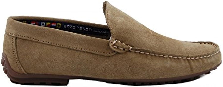 Benavente Mocasín Serraje Pala Taupe  Zapatos de moda en línea Obtenga el mejor descuento de venta caliente-Descuento más grande