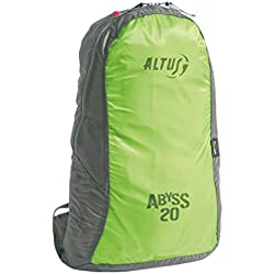 Altus Abyss - Mochila superlight, color lima , 20 L