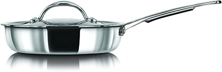 Stahl Stainless Steel Artisan Frypan, 1-Piece, Silver