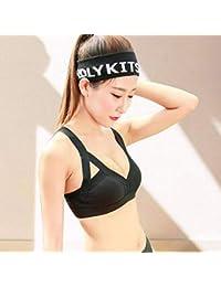 fdc7d17417ced TX ZHAORUI Coincidencia De Color Deportes Ropa Interior Femenino Yoga A Prueba  De Golpes Se Reunieron