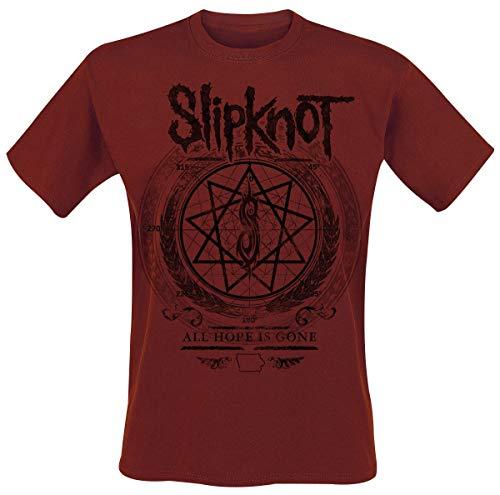 Slipknot Blurry T-Shirt dunkelrot L