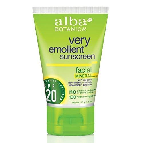 alba-very-emollient-sunscreen-spf-20-4-ounce-by-alba-botanica