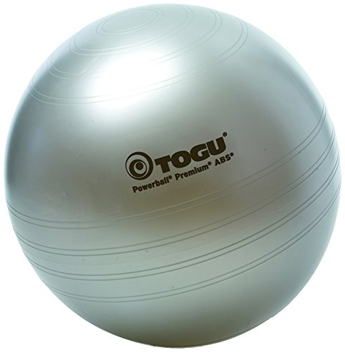 Togu Gymnastikball Premium ABS Power Silber Silber 75 cm