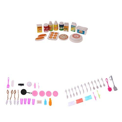 Sharplace Juegos De Conjunto De Herramientas Para Cocina Dollhouse