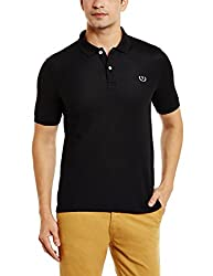 Van Heusen Sport Mens T-Shirt (8907670156346_VSKP517S01507_Large_Black)