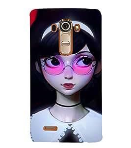 EPICCASE watching you Mobile Back Case Cover For LG G4 (Designer Case)