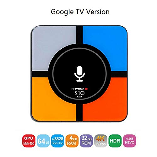 TV Box Drahtlose Lade Set Top Box Android 8.1 Quad Core 2G 16G / 4G 32G Unterstützung Decoder Format 4K VP9 Video Decoder, H.265 / H.264 Video Decoder,A Asf Zu Mp3 Konverter