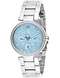 Omax Analog Blue Dial Watch for Women - LS302