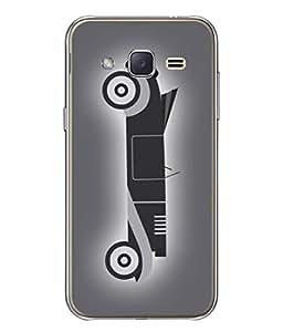 PrintVisa Designer Back Case Cover for Samsung Galaxy J3(2015) :: Samsung Galaxy J3 Duos (2015) :: Samsung Galaxy J3 (Love Lovely Attitude Men Man Manly)