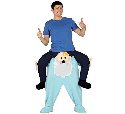 Imagen de disfraz de bebé a hombros para adultos
