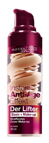Maybelline Instant Anti-Age Effect Base+Make-up 40 Fawn