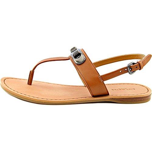 Coach Gracie Femmes Cuir Sandale Saddle