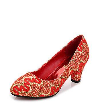 Zormey Les Talons Des Femmes Printemps Été Chaussures Club Fleece Partie &Amp; Tenue De Soirée Bleu Lace-Up Stiletto Heel Occasionnels US8 / EU39 / UK6 / CN39