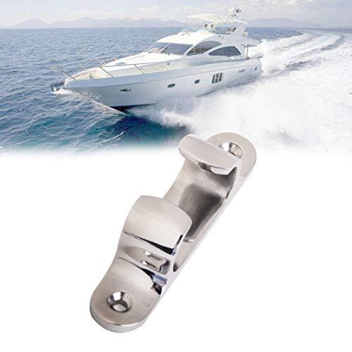 VIGORFLYRUN PARTS LTD 1pc 4 Zoll Edelstahl Anker Boot Yacht Seil Cleat Deck Line Cleat-Zubehör für Marine Boot Yacht Fitting Hardware