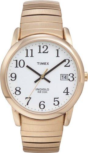 Timex - T2H301 - Montre Homme - Quartz Analogique - Bracelet Acier plaqué Or