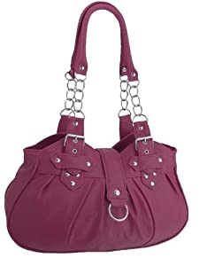 EyeCatchBags - Huron Faux Leather Womens Shoulder Bag Handbag