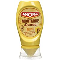Amora Moutarde Douce au Miel 260 g - Lot de 4
