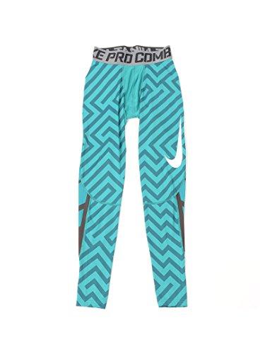 Nike SB Ftm 5Pocket Pant–Pantaloni da uomo Emerald (309) / Black/Grey/White/Emerald