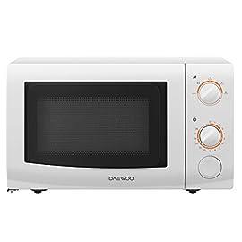 Daewoo KOR6L37 Microonde, 700 W, 20 litri, Bianco